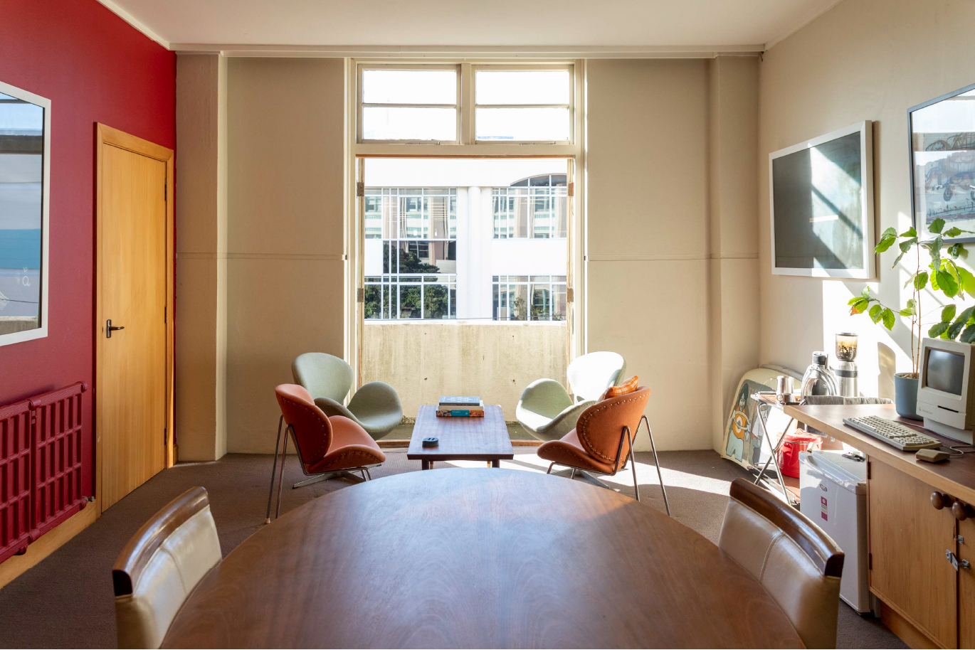 Shared office space in Wellington